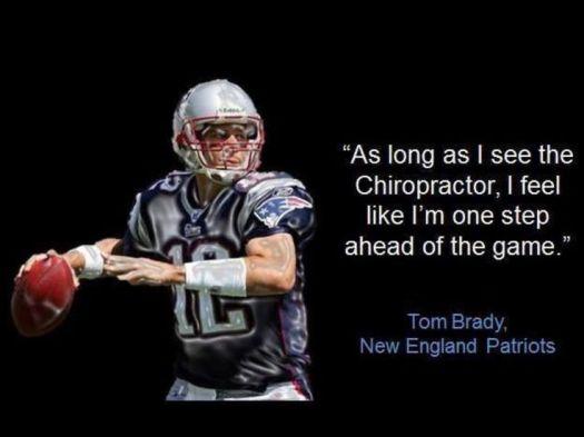 Tom Brady chiropractor